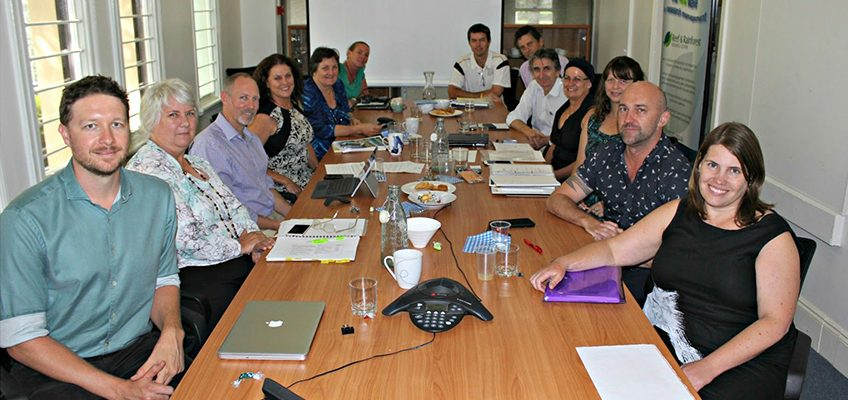 Tropical Water Quality Hub's diverse Steering Committee