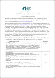 Funding-Call-Assessment-Criteria-Weightings-2016-FINAL